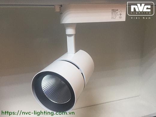 TLED318N 35W & 50W, CRI 90 - Đèn rọi thanh ray LED COB liền khối, thân nhôm đúc sơn tĩnh điện, vân tán sáng