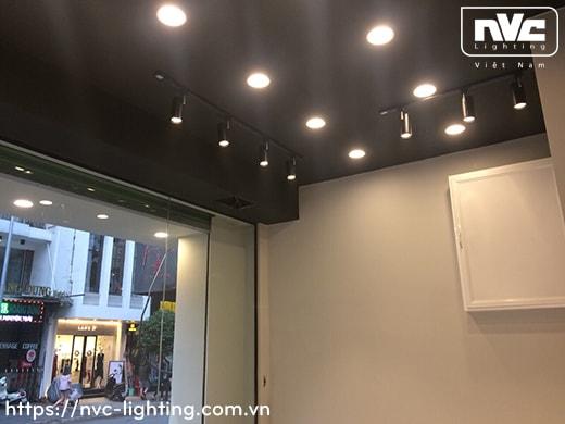 TLED320A 12W, TLED320B 18W, TLED320C 24W - Đèn rọi ray LED COB liền khối, thân nhôm sơn tĩnh điện, trục xoay inox 430