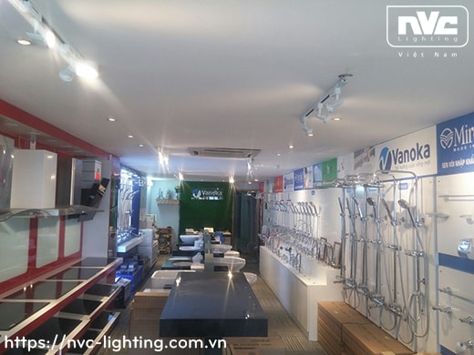 TLN150 TLN150/65 lắp bóng rời MR16 halogen max 35W hoặc LED 6W - Đèn rọi ray module, tương thích cả bóng nón/bóng chén