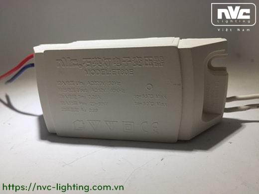 ET60E - Bộ đổi nguồn 220V chuyển 12V 2 trong 1, tương thích cả bóng halogen và LED (MR16, G4, G5), dùng cho bóng đèn chùm sợi đốt, đèn tranh, đèn gắn tường...