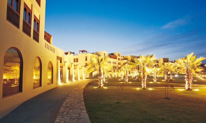 Tổ hợp khách sạn Jebel Sifah - Oman
