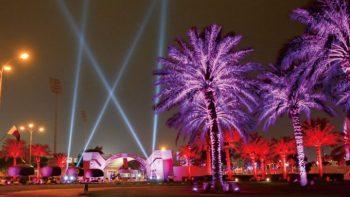 Trường đua ngựa Qatar - Đẳng cấp dưới ánh đèn NVC Lighting