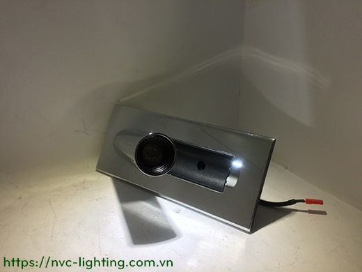 NWA321-GD/CR/BK/WT - Đèn đọc sách gắn âm đầu giường công suất 3W, Ra 80, độ sáng 120lm, góc chiếu 30 độ, IP20, công tắc tự động tắt bật trên thân đèn