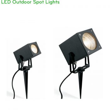 NSP188 6W, NSP189 12W – Đèn cắm cỏ rọi cây IP65, độ sáng 500lm và 900lm, Ra > 90, AC220V-240V hoặc DC12V/24V, góc chiếu sáng 15/24/38/60 độ