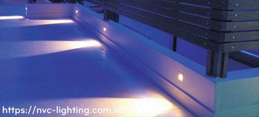 DL041 DL042 1W – Đèn LED dẫn hướng hoặc lắp chân cầu thang, IP65 dùng ngoài trời, Ra > 80, độ sáng 70 lumen
