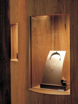 Đèn gắn tủ kính NSD016 1W NSD017 2W NSD018 3W chiếu sáng trang sức, tủ vàng bạc, đá quý