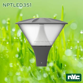 NPTLED351 36W – Đèn cột sân vườn IP65 chip Cree COB, cao 3m, quang thông 2.800 lumens, dải điện áp 110V-240V, tuổi thọ 30.000 giờ