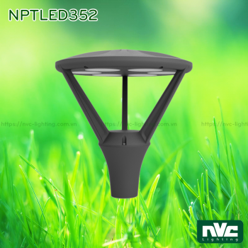 NPTLED352 36W – Đèn cột sân vườn IP65 chip Cree COB, cao 3m, độ sáng 2.800 lumens, điện áp 110V-240V, độ bền sáng 30.000 giờ