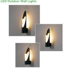 NWA310 NWA311 NWA312 5W - Đèn LED gắn tường thân aluminum, Ra > 90, độ sáng 430 lumens, cấp bảo vệ IP65 dùng được ngoài trời