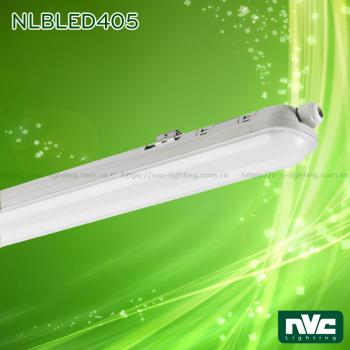 NLBLED405 21W 40W 55W - Đèn tuýp LED công nghiệp chống ẩm IP65, LED SMD 30.000h chiếu sáng, chiều dài tương ứng 60cm 120cm 150cm, góc chiếu sáng 105 độ
