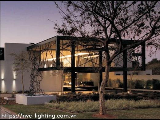 NWA215 COB 6W, NWA216 COB 2x6W – Đèn LED gắn tường ngoài trời thân tròn, chất lượng ánh sáng Ra > 90, độ sáng 430lm & 860lm, IP65