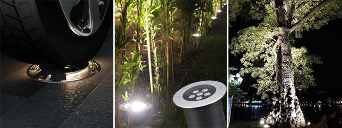 Đèn âm đất NVC Lighting chính hãng, thiết kế cao cấp, sáng đẹp tinh tế