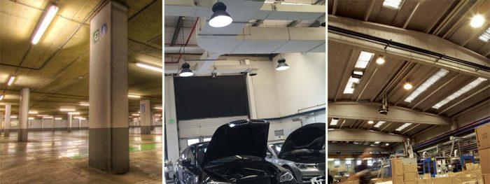 Đèn LED nhà xưởng, đèn LED công nghiệp NVC chiếu sáng cực hiệu quả