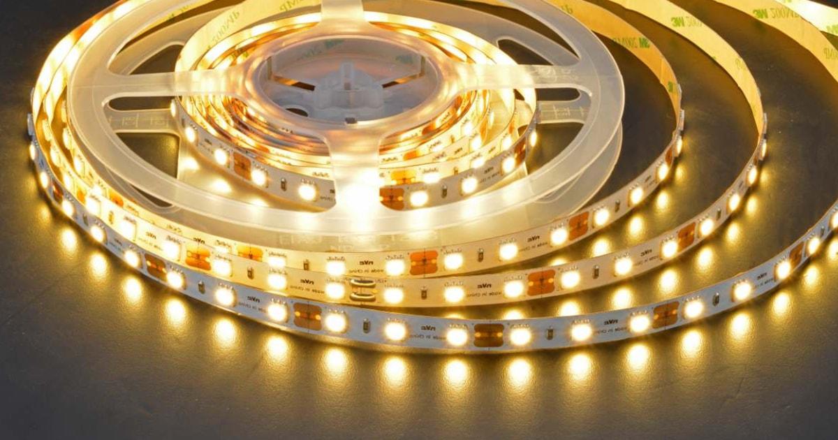 Đèn LED dây NVC – Trang trí ấn tượng, lấy sáng gián tiếp đẹp tinh tế
