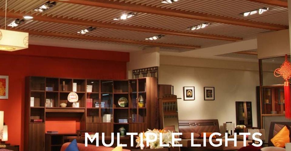 Đèn LED multiple downlight NVC - Đèn chiếu sáng nội thất độc đáo
