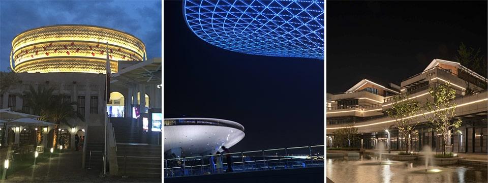 Đèn LED thanh ngoài trời NVC Lighting dấu ấn từ chất liệu nhôm cao cấp