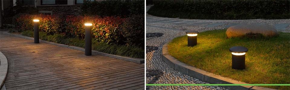 Đèn trụ sân vườn NVC Lighting IP54 kiểu độc lạ, chiếu sáng đẳng cấpĐèn trụ sân vườn NVC Lighting IP54 kiểu độc lạ, chiếu sáng đẳng cấp