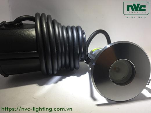 NSLED4310 3W 3.5W – Đèn LED âm nước thân inox 316, kính cường lực 7mm, đệm cao su EDPM kín nước, chip Osram, IP68