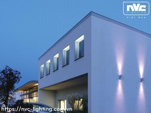 NWA253 COB 6W, NWA254 COB 2x6W – Đèn LED gắn tường ngoài trời thân vuông, chất lượng ánh sáng Ra > 90, độ sáng 430lm & 860lm, IP65
