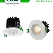 NSPLED181W 9W 12W - Đèn spotlight LED âm trần chống ẩm chống hơi nước IP65, tản nhiệt nhôm đúc, độ thật ánh sáng CRI 80, góc chiếu sáng 20 độ 38 độ, tuổi thọ lên tới 35.000h
