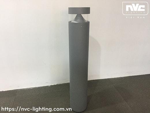 NGLED3607 9.4W – Đèn trụ nấm sân vườn IP54, thân hợp kim nhôm cán cao cấp phủ sơn tĩnh điện chống han gỉ, lens PC mờ chống chói, chip LED SMD, cao 0.8m