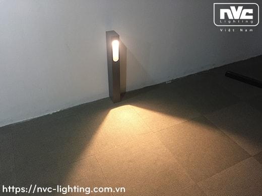 NGLED5613 9W – Đèn trụ sân vườn chip Cree COB IP54, thân hợp kim nhôm cán cao cấp phủ sơn tĩnh điện chống oxy hóa, cao 250mm hoặc 650mm