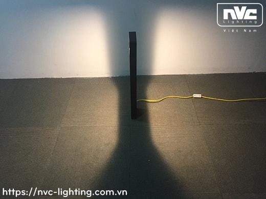 NGLED5623 9W – Đèn trụ nấm sân vườn chip Cree IP54, thân hợp kim nhôm cán cao cấp phủ sơn tĩnh điện chống oxy hóa, lens khuếch tán ánh sáng đều 2 bên, cao 350mm hoặc 650mm