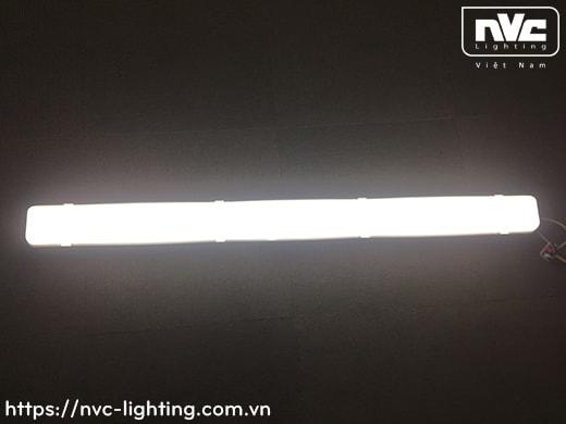 NLED491 18W, NLED492 36W, NLED493 54W – Bộ đèn tuýp LED IP65 chống ẩm, chống thấm, chống cháy nổ, góc chiếu 100° dùng nơi hầm xe, trạm xăng, kho