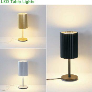 NTL032-BK/GD/WT 2x6W - Đèn để bàn cao cấp chống chói tuyệt đối, thân nhôm đúc cao cấp xử lý anod hóa, ánh sáng đẹp Ra 80, quang thông 1200lm