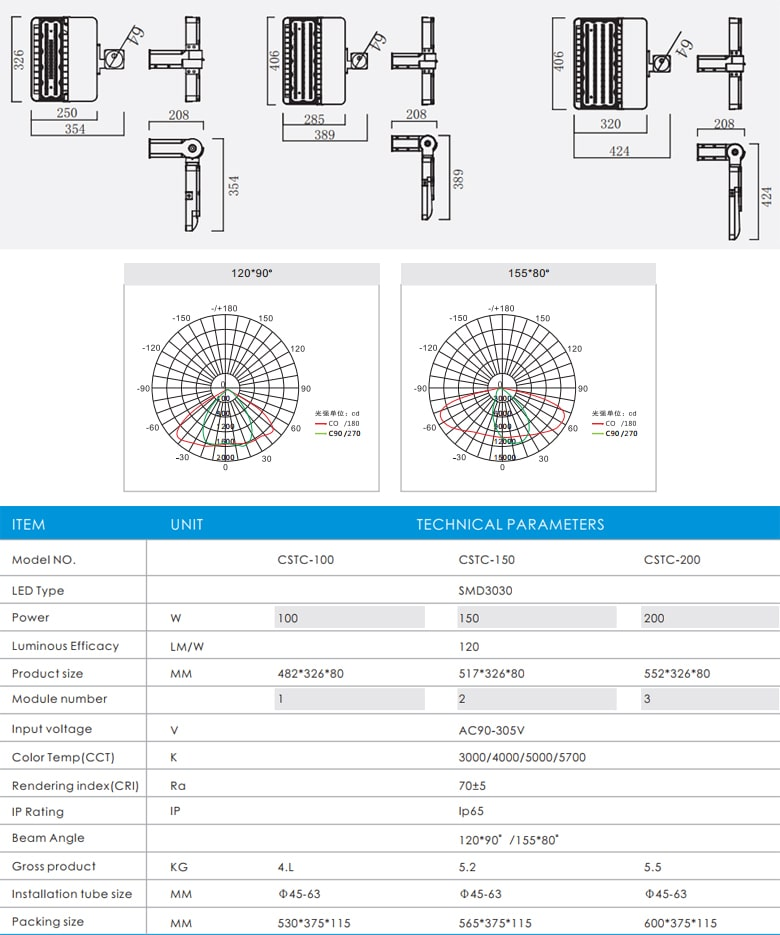 Đèn đường LED CSTC Series