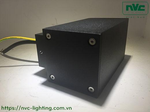 NWA253 COB 6W, NWA254 COB 2x6W – Đèn LED gắn tường ngoài trời thân vuông, chất lượng ánh sáng Ra 90, độ sáng 430lm 860lm, IP65