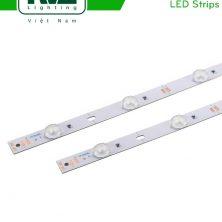 NMOLED3030 - Đèn LED dây mạch cứng chuyên chiếu biển hiệu quảng cáo, chip LED SMD 3030, CRI 70, nhiệt độ màu 8000K-14000K, điện áp DC 12V