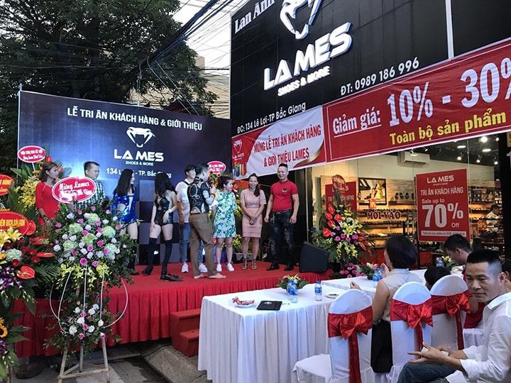 Hệ thống shop giày LaMes Lan Anh