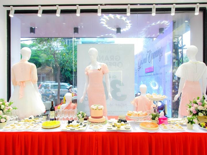 Hệ thống shop thời trang cao cấp ELISE