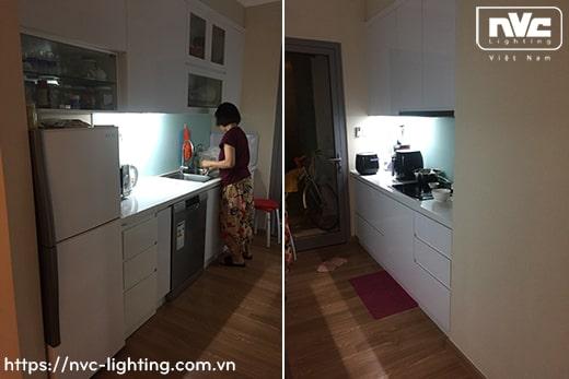NBTLED T5P T6P – Bộ đèn tuýp LED T5/T6 nhựa vuông, có nút nhấn công tắc, xuyên sáng 2 đầu 99%