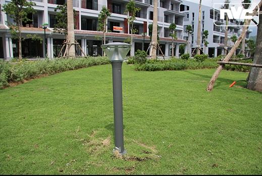 NGLED3603 10.5w - Đèn trụ nấm sân vườn IP54, thân hợp kim nhôm cán cao cấp phủ sơn tĩnh điện chống han gỉ, khuếch tán PC mờ chống chói, cao 0.3m & 0.8m