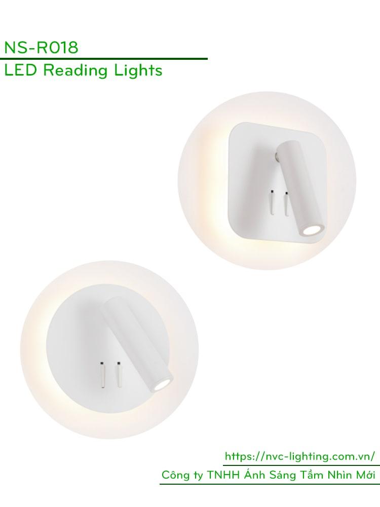 Đèn đọc sách gắn tường NS-R018