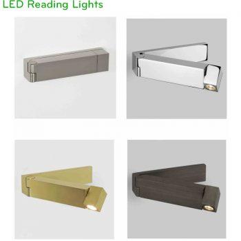 NWA018 - Đèn đọc sách gắn tường xoay gập độc đáo