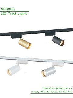 NDS005 - Đèn rọi ray sử dụng bóng GU10