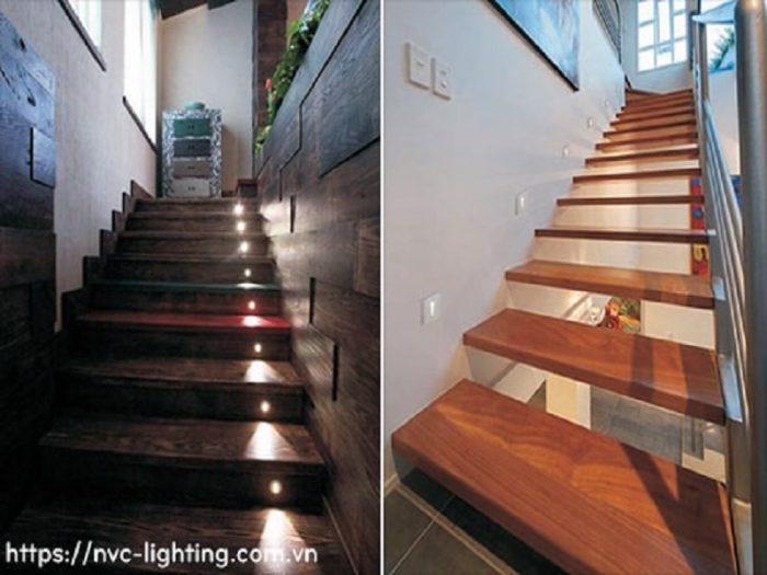 đèn cầu thang đẹp