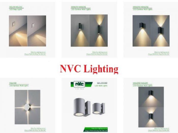 Tại NVC Lighting có đa dạng đèn cầu thang khác nhau để bạn có thể lựa chọn.