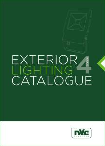 NVC Exterior Lighting Catalog Issue 4