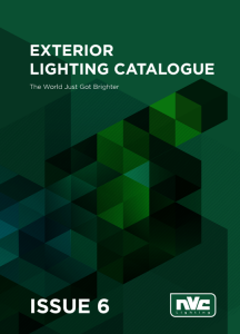 NVC Exterior Lighting Catalog Issue 6