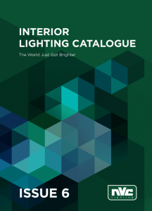 NVC Interior Lighting Catalog Issue 6