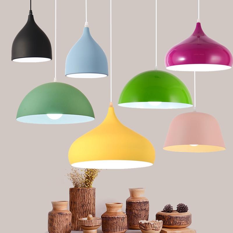 Đèn thả treo trang trí phong cách Bắc Âu tối giản - E series